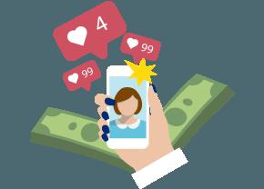 zarabiaj na instagramie