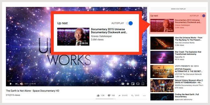 Sprawdzaj konkurencję i pożyczaj pomysły z popularnych filmów, które proponuje ci YouTube