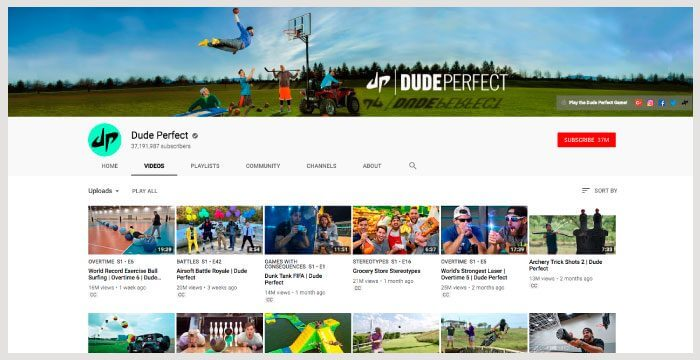 youtube-dudeperfect