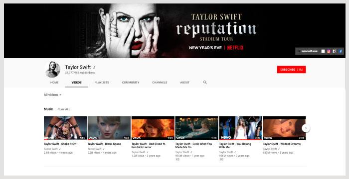 youtube-taylor-swift
