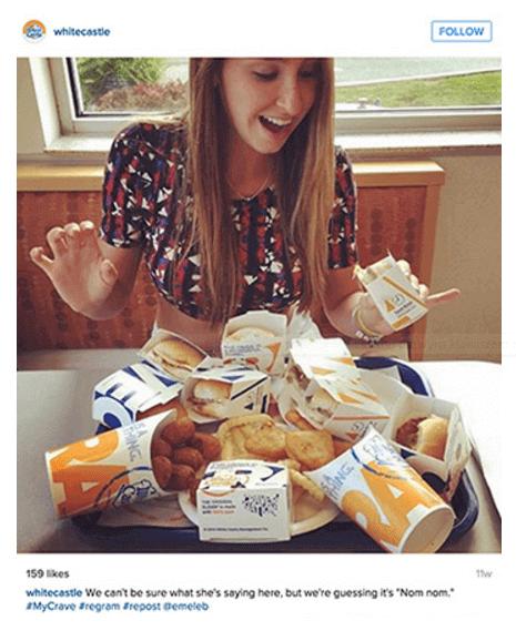 Burgerownia stworzyła hasztag #MyCrave