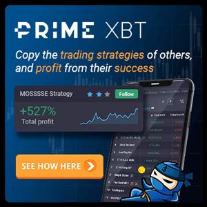 PrimeXBT Covesting banner
