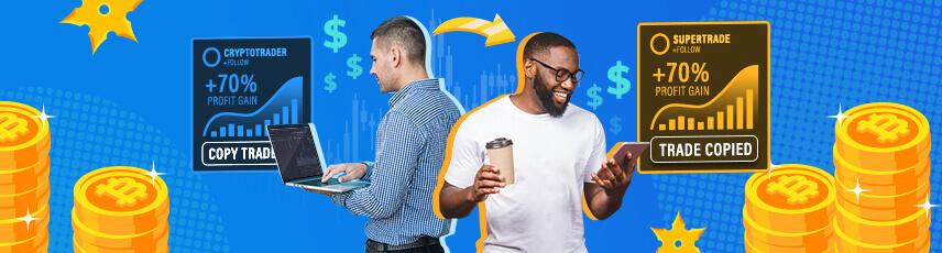 Copy Trading przedstawiony obraz